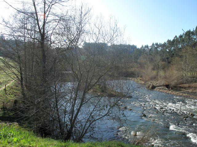 Río Nansa en Muñorrodero Cantabria