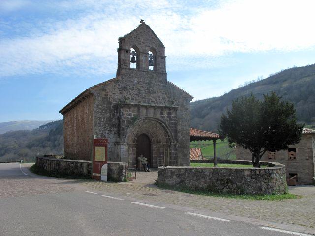 Iglesia Santa Juliana en Lamasón