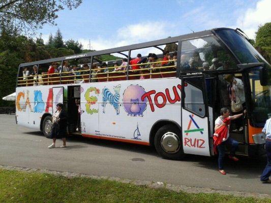 Rutas en autobús al Parque de Cabárceno