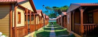 Bungalows camping Cabo Mayor Santander