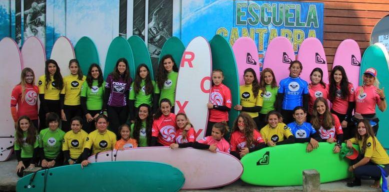 surfcamp para chicas - turismo de cantabria - portal oficial de