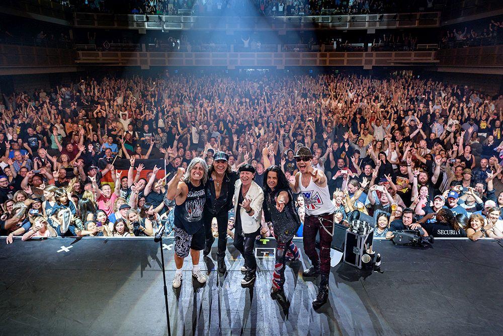 Scorpions en concierto en Torrelavega